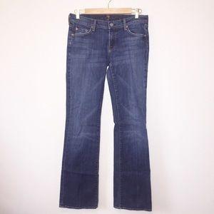 7FAM Long Legs Bootcut Denim Jeans Size 30